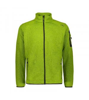 CMP Man Jacket Mikina E413 zelená