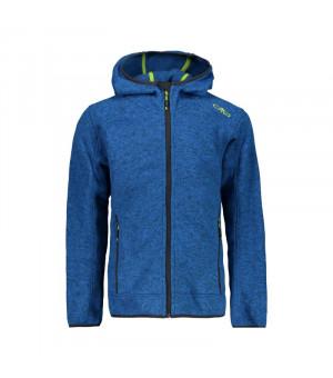 CMP Boy Jacket Fix Hood Mikina M962 modrá