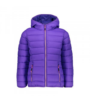 CMP Girl Jacket Fix Hood Bunda H310 fialová