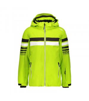 CMP Boy Jacket Snaps Hood Bunda E413 zelená