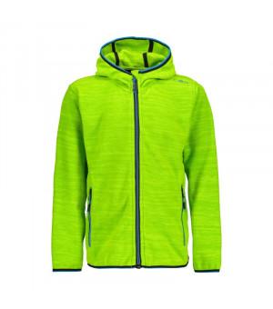 CMP Boy Jacket Fix Hood Mikina E407 zelená