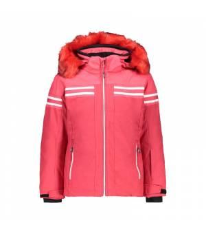 CMP Girl Jacket Snaps Hood Bunda C829 ružová