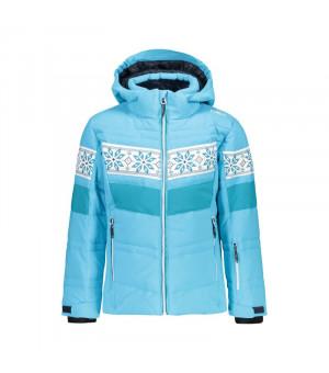 CMP Girl Jacket Snaps Hood Bunda L611 modrá