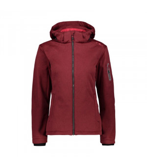 CMP Woman Jacket Zip Hood Bunda H875 červená