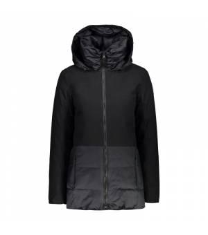 CMP Woman Mid Jacket Fix Hood bunda 38UD čierna