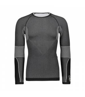 CMP Man Seamless Sweat Tričko U901 čierne