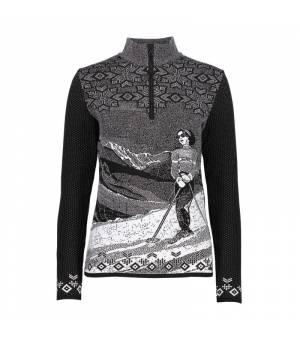 CMP Woman Jacket Knitted PP mikina U901 čierna