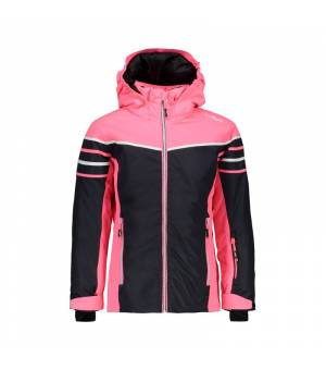 CMP Girl Jacket bunda U423 sivá