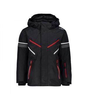 CMP Boy Jacket Bunda U423 sivá