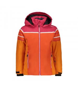 CMP Girl Jacket Bunda C672 oranžová