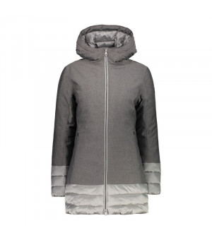 CMP Woman Parka Fix Hood Bunda 11PD sivá