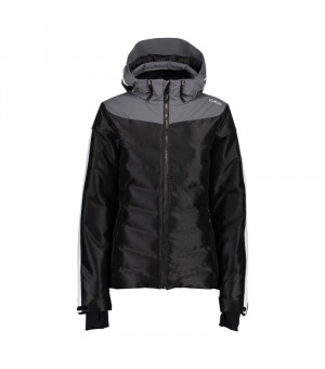 CMP Woman Jacket Zip Hood Bunda U901 čierna