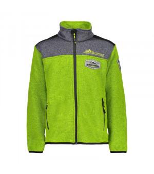 CMP Boy Jacket Mikina E413 zelená