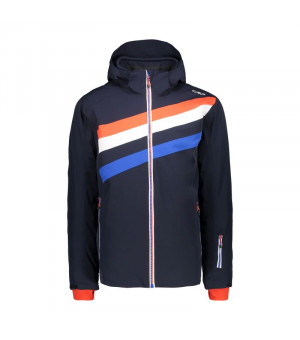 CMP Bunda Man Jacket Zip Hood N950 modrá