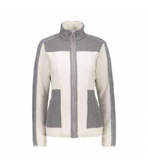 CMP Woman Jacket mikina A121 sivá