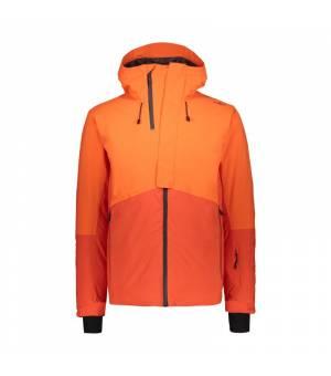 CMP Man Mid Jacket Fix Hood bunda C783 oranžová