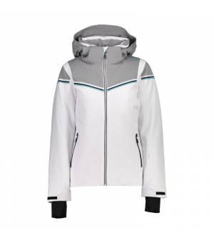 CMP Woman Jacket Zip Hood bunda A001 biela