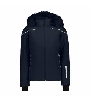 CMP Woman Jacket Zip Hood bunda N950 modrá
