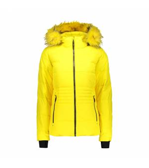 CMP Woman Jacket Zip Hood bunda R411 žltá