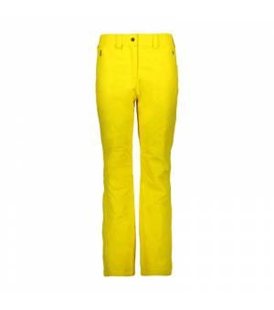 CMP Woman Pant nohavice R411 žlté