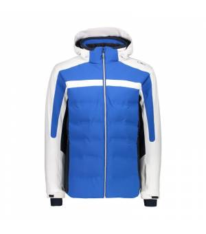 CMP Man Jacket Zip Hood bunda N951 modrá
