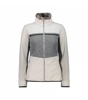 CMP Mikina Woman Jacket mikina A121 sivá