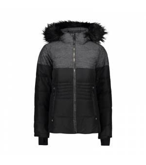 CMP Bunda Woman Jacket Zip Hood U901 čierna