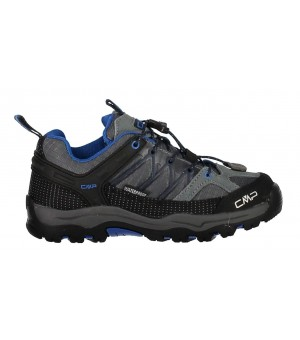 CMP KIDS RIGEL LOW TREKKING SHOES WP OBUV 52AK SIVÉ