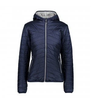 CMP WOMAN JACKET FIX HOOD BUNDA MODRÁ