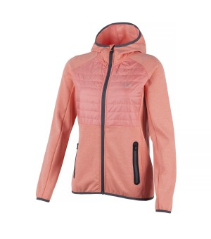 CMP WOMAN FIX HOOD HYBRID JACKET BUNDA
