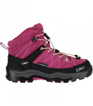 CMP Kids Rigel MID Trekking SHOE WP 10HC ružové