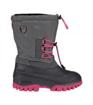 CMP Kids Ahto WP Snow Boots U883 sivé