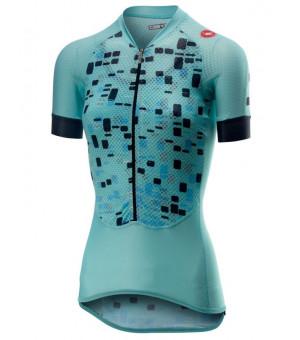 Castelli Climber's W cyklistický dres modrý