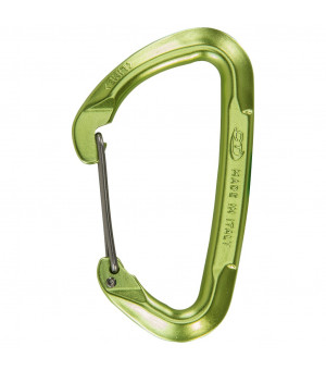 Climbing Technology Lime W green karabína