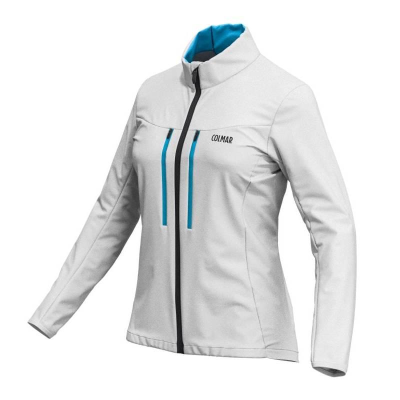 f6dc5c354 Colmar Softshell JKT outdoorova dámska bunda sivá   Galfy.sk