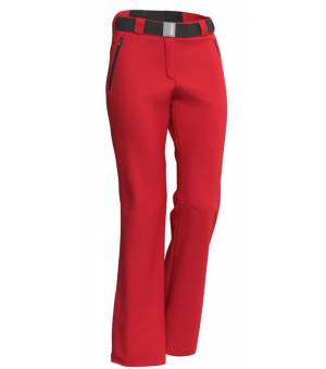 Colmar Ladies Ski Pants With A Belt Red nohavice