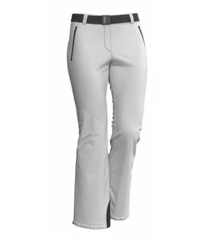 Colmar Ladies Ski Pants With A Belt white nohavice
