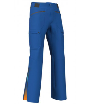 Colmar Mens Mech Stretch Pant Marins-Sapphire/Orange Pop nohavice