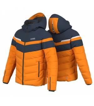 Colmar Hokkaido Mens Ski Jacket Orange Pop bunda
