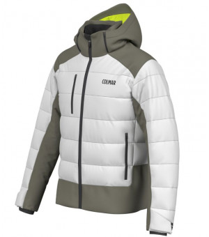 Colmar Chamonix M. Down Ski Jacket White-Jungle bunda