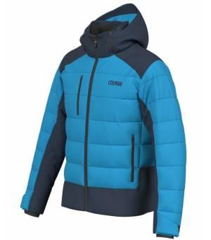 Colmar Chamonix Mens Ski Jacket Mirage Blue Black bunda