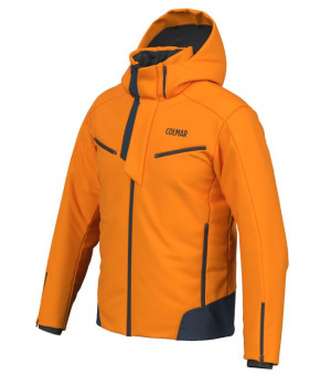 Colmar Schuss Mens Ski Jacket Orange Pop bunda