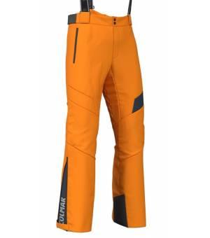 Colmar Mens 2way Stretch Salopette Orange Pop-Blue Black
