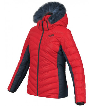 Colmar Ancolie Ski Ladies Jacket Bunda Bright Red-Blue Black