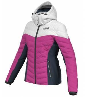 Colmar Ushuaia W Jacket Cyclamen-Blue Black-White bunda