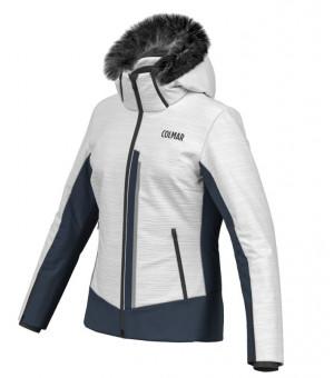 Colmar 3-Tre Ladies Ski Jacket White/Blue Black bunda