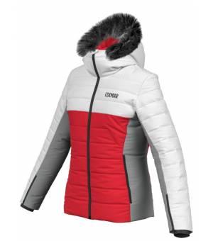 Colmar Lake Louise Ladies Jacket Red/White/Grey bunda