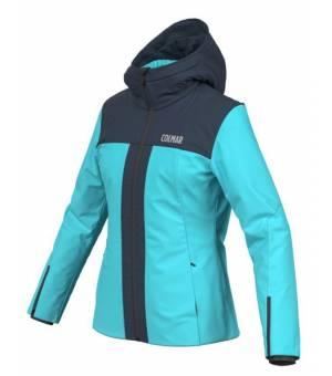 Colmar Aspen Ski Ladies Jacket Bunda Waterblue-Blue Black