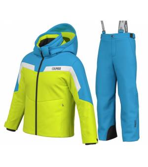 Colmar Alpine Look Kids 2 Pieces Suit Lime Mirage komplet