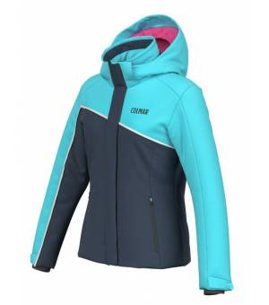Colmar Free Ski Look Girls Jacket Blue Black/Waterblue bunda